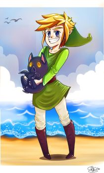 Wind Waker by October-Shadows