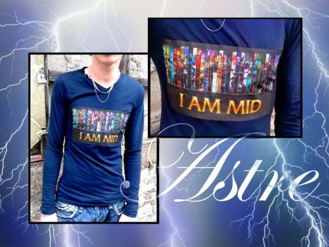T-shirt homme '' I a mid '' by astre90