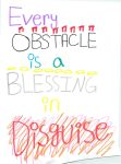 Every Obstacle is a Blessing in Disguise by hyperbunnyzz