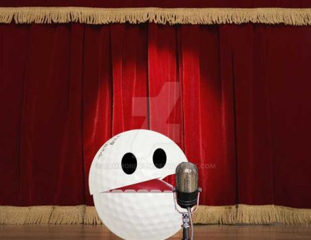 32 Ballsy Comedian by commonloon