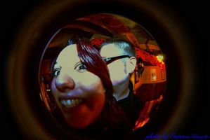 Looks into the focal reducer.. by Frozen-Grave
