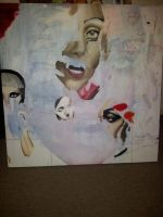 Gaga collage WIP by FireLioness
