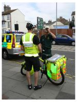 The Bicycle Ambulance by e-s-d
