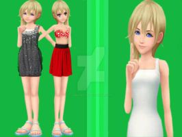 Namine's Clothes by MultiPettan