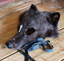 Black Coyote Mask and More FS by lupagreenwolf