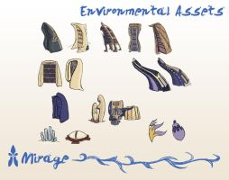 Mirage Environment Assets by spiralstatic13