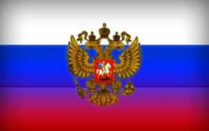 Russian flag by Wuy