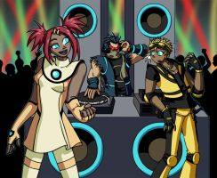 TFAH:  Rave Dance Party by mystryl-shada