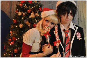 Ao No Exorcist: Keep Me Warm by CosplayerWithCamera