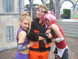 naruto and the girls by daniel-batty