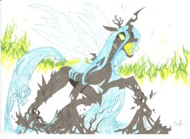 Queen Chrysalis by Dialogue-Of-One