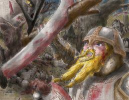 Thorin 'Oakenshield' by Afalstein