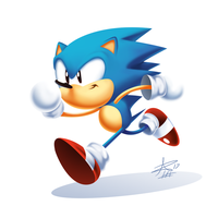 Toei Sonic Classic Render by tripplejaz