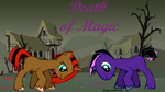 upcoming Fan-fic Death of Magic Cover by DurpyHoofs