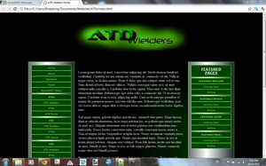 ATD Website WIP 1 by Binkatong