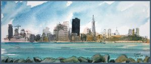 San Francisco from Treasure Is by PabloRuiz