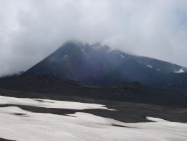 Mount Doom in the Clouds by Undevicesimus