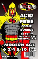 Acid Free Comic Board Cover by dragonhuntr