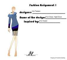 FA - Fashion Assignment 1 by 11rnolson