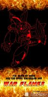 War Flames Rodimus teaser poster by TF-The-Lost-Seasons
