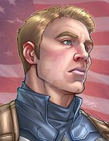 Captain America by kpetchock