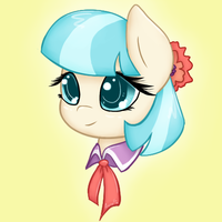 Coco Pommel Chibi headshot by AcrylliaV