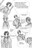 Edgeworth the mommy by TigerClaw-chan
