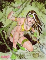 SAVAGE LAND ROGUE by RODEL MARTIN (11162013) by rodelsm21