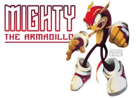 Mighty The Armadillo by RhythmAx