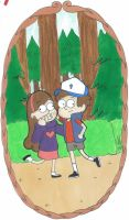 Dipper and Mabel 2 by Gee-94