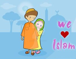 We love Islam by Marwa-Kishk