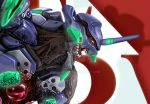 Detail of Eva Unit 01 illustration by steveagoto