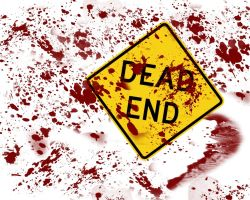 Bloody Dead End by molotov-arts