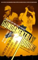 Gundamentally Sound flyer by Zahrah