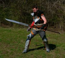 Dragon Age 2 Hawke by mbielaczyc