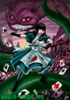 Alice in wonderland by soyivang