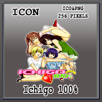 Ichigo 100 % Icon by Myk-2103