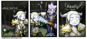 Warcraft Comic Request by Angelainva