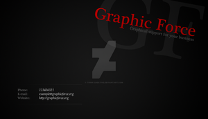Graphic Force - Business Card by Think-Creative