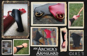 Archer's Armguard by Archer-AMS