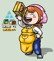 COM: Learning the Food Pyramid With Cooking Mama 1 by Mask-De-Jimman