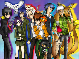 Collab - Vongola Guardians by Noaru-Chan
