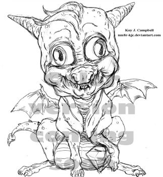 Baby Spyro by Koy Campbell 150COMINGSOON by NM8R-KJC