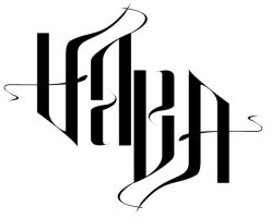 Ambigram - Sara by bigforrap