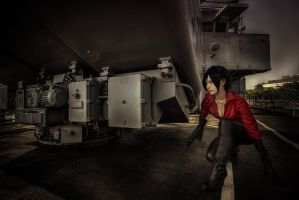On the ship - Resident Evil 6 by UchihaSayaka