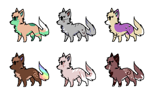 Some simple adopts~ ALL SOLD by SeekingNostalgia