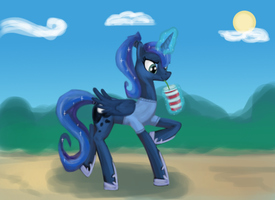 T-shirt Princess Luna by SadlyLover