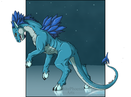 The Ice Stalker by WhitePhoenix7