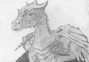 merlin the great dragon by Alaina19