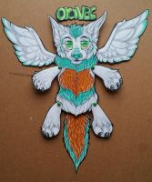 Paper doll badge for oravec commission by nightspiritwing